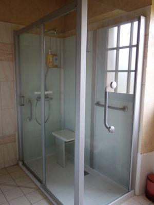 Pose d'une douche à Joué-lès-Tours (37300)