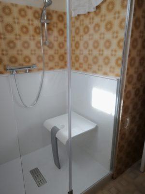 Pose douche près d'Orléans (45)