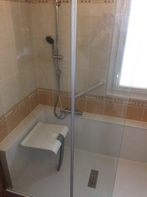 Pose douche près de Châteauroux (36)